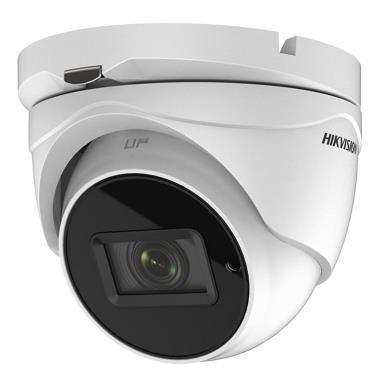 DS-2CE79U7T-IT3ZF - 8MP DOME kamera TurboHD; 4v1; WDR+EXIR; IP67; motor.obj. 2,7-13,5mm