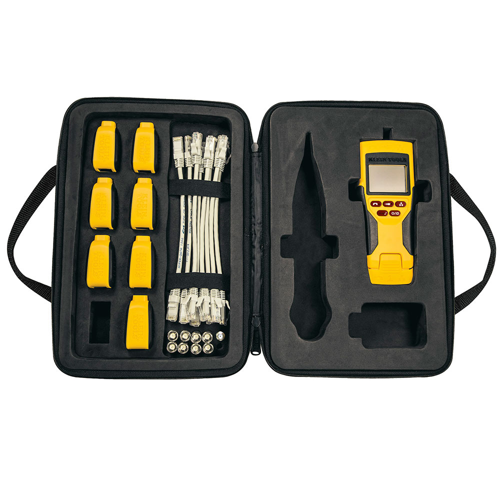 LAN TESTER - VDV Scout® Pro 2 LT Tester and Test-n-Map Remote Kit - KLEIN TOOLS