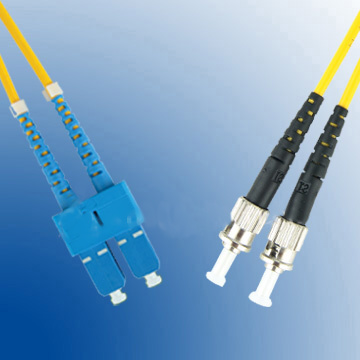 LEXI-Net Patch kabel 09/125, SC-ST, 3m duplex