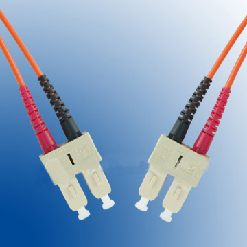 Patch kabel 62,5/125, SC-SC, 1m duplex