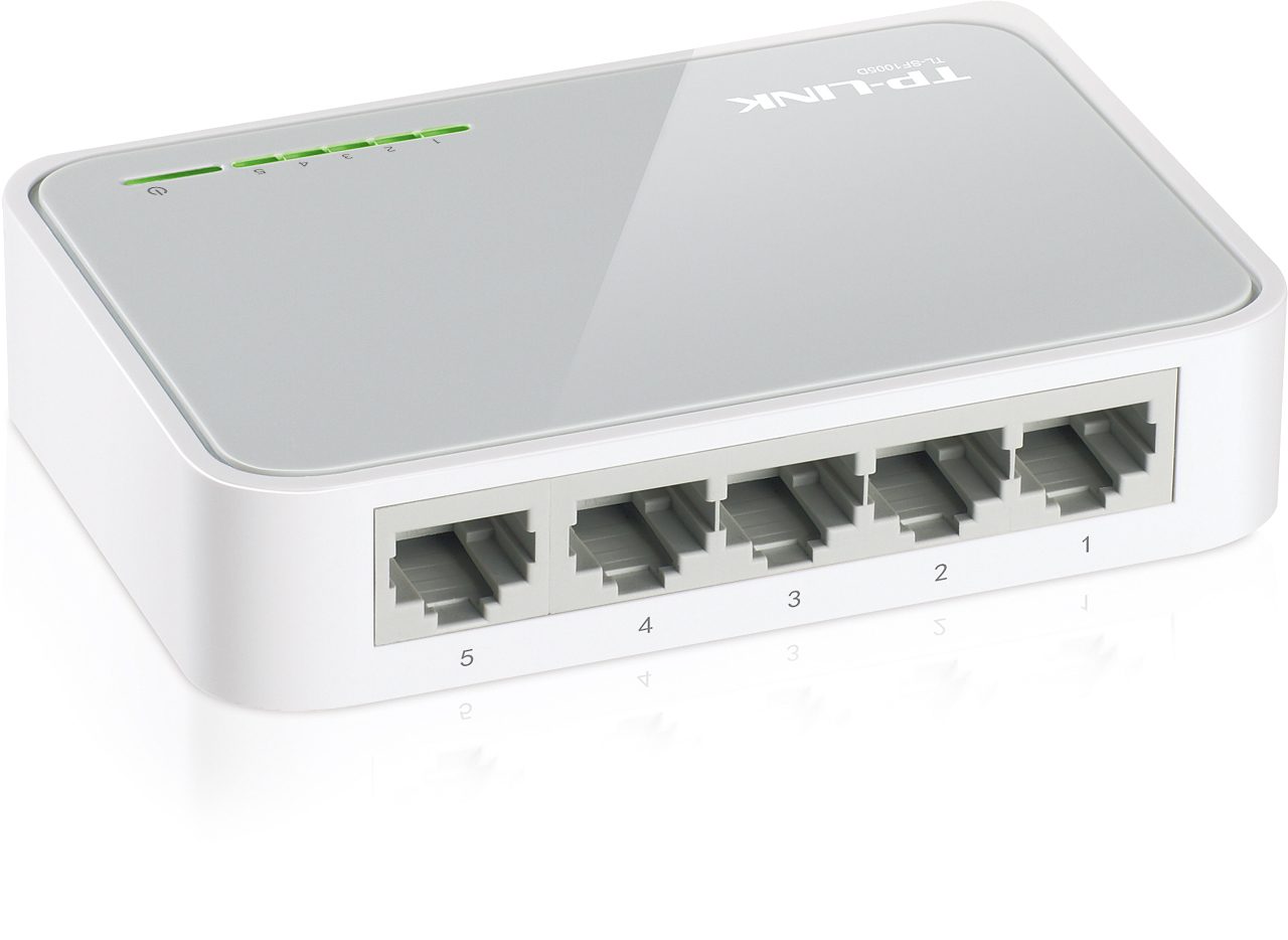 Switch TP-Link TL-SF1005D switch 5xTP 10/100Mbps