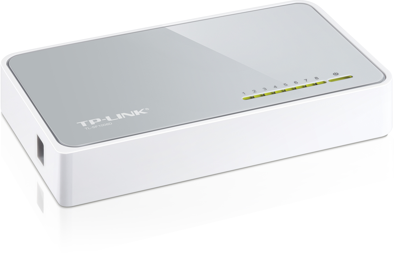 Switch TP-Link TL-SF1008D switch 8xTP/1uplink 10/100Mbps