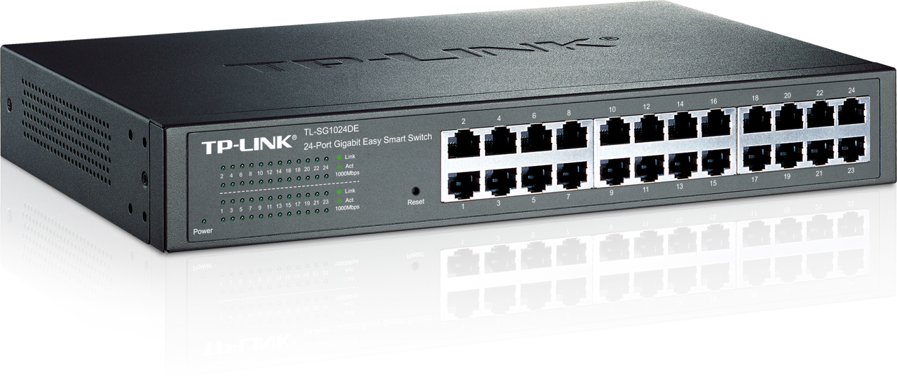 Switch TP-Link TL-SG1024DE smart 24x 10/100/1000Mbps